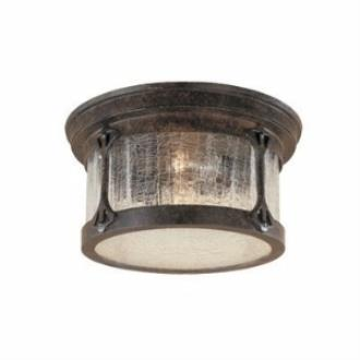 Designers Fountain 20935-CHN Canyon Lake - Two Light Outdoor Flush Mount