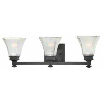 Designers Fountain 6663-BBR Canterbury - Three Light Bath Fixture