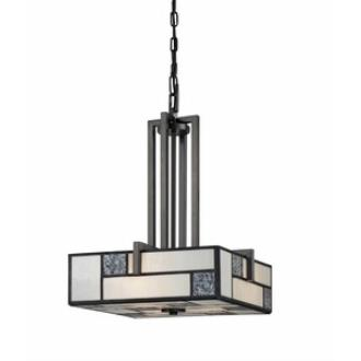 Designers Fountain 84131-CHA Bradley - Three Light Inverted Pendant