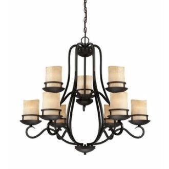 Designers Fountain 84789-NI Lauderhill - Nine Light Chandelier