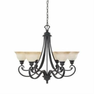 Designers Fountain 96186-NI 6-Light Chandelier