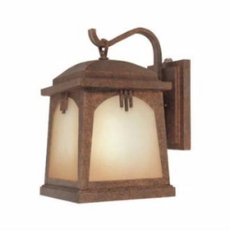Designers Fountain ES21031-VBR Casa Grande - One Light Outdoor Wall Lantern