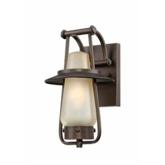 Designers Fountain ES32021-FBZ Stonyridge - One Light Outdoor Wall Lantern