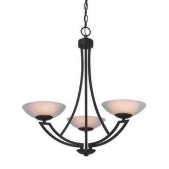 Dolan Lighting 1907-46 Delany - Three Light Chandelier