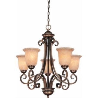 Dolan Lighting 2090-133 Medici - Five Light Chandelier