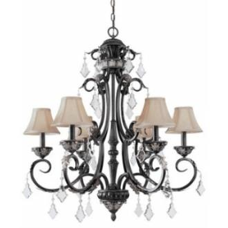 Dolan Lighting 2100-148 Florence - Six Light Chandelier
