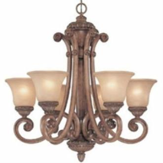 Dolan Lighting 2400-162 Carlyle - Six Light Chandelier