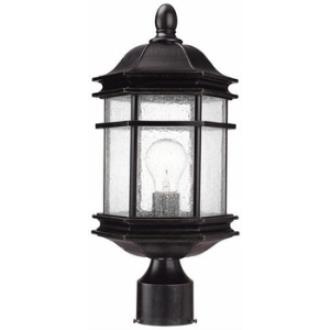 Dolan Lighting 9238-68 Barlow - One Light Outdoor Post Lantern
