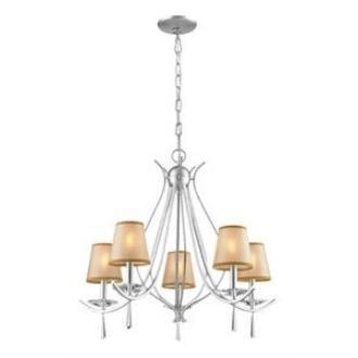 Elk Lighting 14082/5 Clarendon - Five Light Chandelier