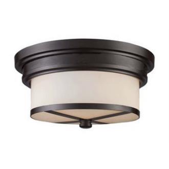 Elk Lighting 15025/2 Two Light Flush Mount