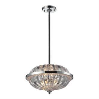 Elk Lighting 31246/4 Crystal - Four Light Pendant