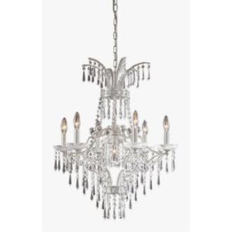 Elk Lighting 4056/6+1 La Fontaine - Seven Light Chandelier