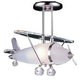 Elk Lighting 5051/1 One Light Biplane Shape Pendant
