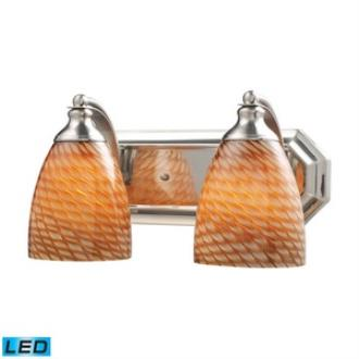 Elk Lighting 570-2N-C-LED Vanity - Two Light Bath Bar