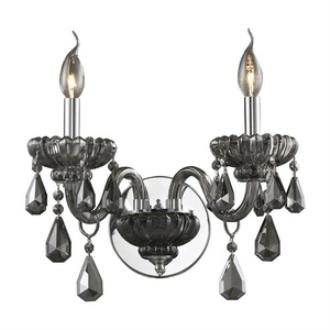 Elk Lighting 80070/2 Cotswold - Two Light Crystal Wall Sconce