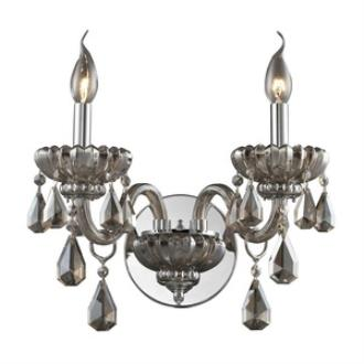 Elk Lighting 80080/2 Cotswold - Two Light Crystal Wall Sconce