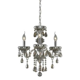 Elk Lighting 80081/3 Cotswold - Three Light Crystal Chandelier