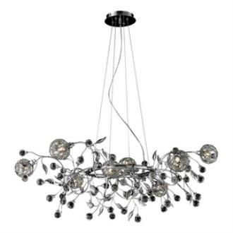 Elk Lighting 82042/8 Sonne - Eight Light Crystal Pendant