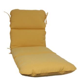 Fiberbuilt Umbrellas CT0609CC Cushion for Cast Aluminum Chaise Lounge