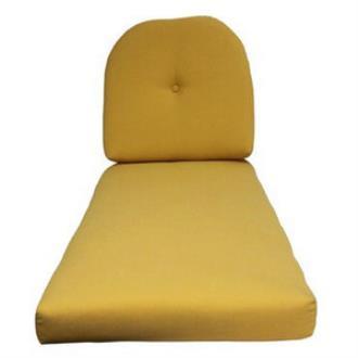 Fiberbuilt Umbrellas KC01/03WC Cushion for Wicker Chaise Lounge