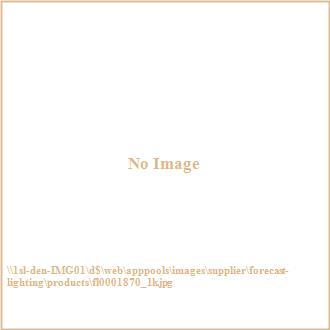 Forecast Lighting FL0001870 Bow LED wall sconce in Merlot Bronze finish