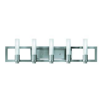 Fredrick Ramond Lighting FR59075BNI Flair Bath Wall Sconce