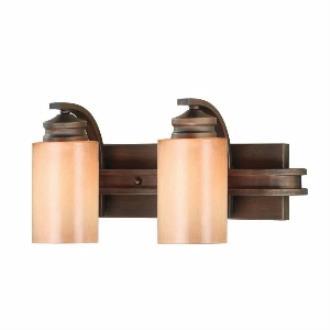 Golden Lighting 1051-BA2 SBZ Hidalgo - Two Light Vanity