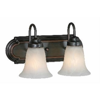 Golden Lighting 5221-2 ORB 2 Light Vanity