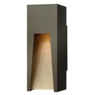 Hinkley Lighting 1760BZ Kube - One Light Outdoor Small Wall Sconce