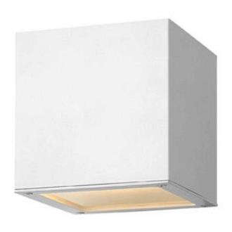 Hinkley Lighting 1766SW Kube - One Light Outdoor Wall Sconce