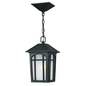 Hinkley Lighting 1982BK Cedar Hill - One Light Outdoor Hanging Lantern
