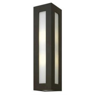 Hinkley Lighting 2195BZ-GU24 Dorian - One Light Large Outdoor Wall Mount