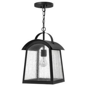 Hinkley Lighting 2652BK Putney Bridge - One Light Outdoor Hanging Lantern
