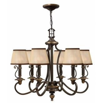 Hinkley Lighting 4246OB Plymouth Collection Chandelier