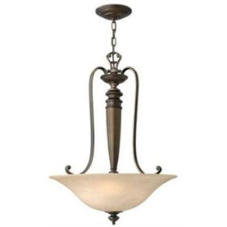 Hinkley Lighting 4594RY 3LT INVERT FOYER