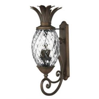 Hinkley Lighting 2225CB Plantation Cast Outdoor Lantern Fixture