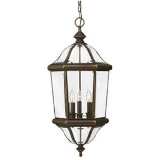 Hinkley Lighting 2452CB Augusta Brass Outdoor Lantern Fixture