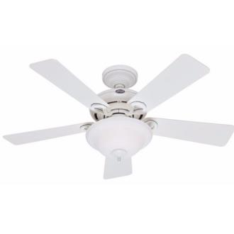 "Hunter Fans 27566 Newcastle - 44"" Ceiling Fan with Light Kit"