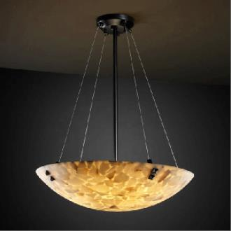 Justice Design PNA-9664 Porcelina - Eight Light Bowl Pendant