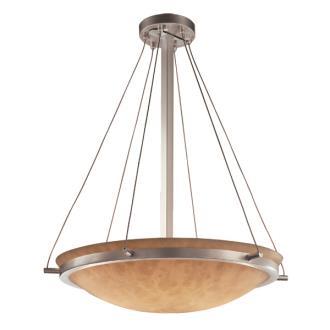"""Justice Design CLD-9692 24"""" Round Pendant Bowl"""