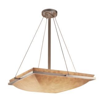 "Justice Design CLD-9792 24"" Square Pendant Bowl"