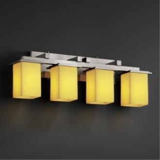 Justice Design CNDL-8674 Montana - Four Light Bath Bar