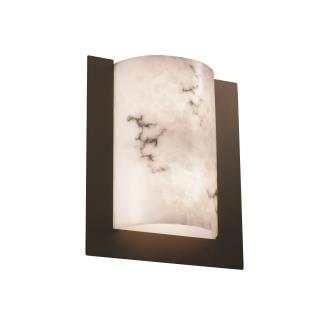 Justice Design FAL-5562 Framed Rectangle 3-Sided Wall Sconce (ADA)