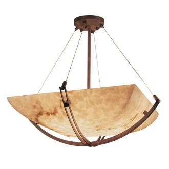 "Justice Design FAL-9727 48"" Pendant Bowl"