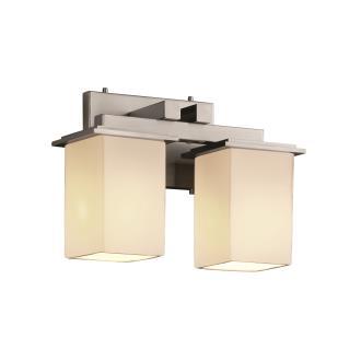Justice Design FSN-8672 Montana 2-Light Bath Bar
