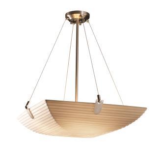 Justice Design PNA-9622 Porcelina - Six Light Bowl Pendant with U-Clip