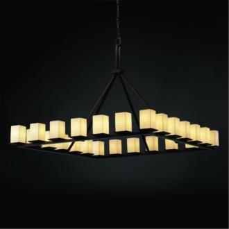 Justice Design POR-8616 Limoges - Twenty-Four Light Ring Chandelier