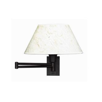 Kenroy Lighting 30110BRZ Simplicity Swing Arm Wall Lamp
