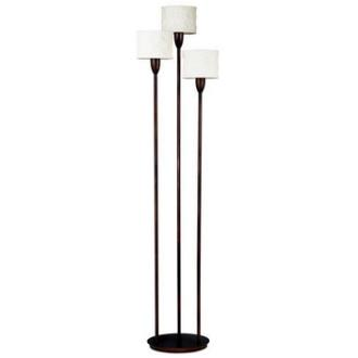 Kenroy Lighting 30673ORB Crush - Three Light Torchiere