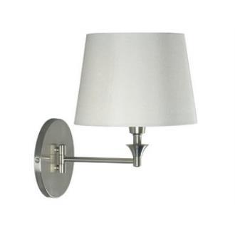 Kenroy Lighting 32180BS Martin - One Light Swing Arm Wall Lamp